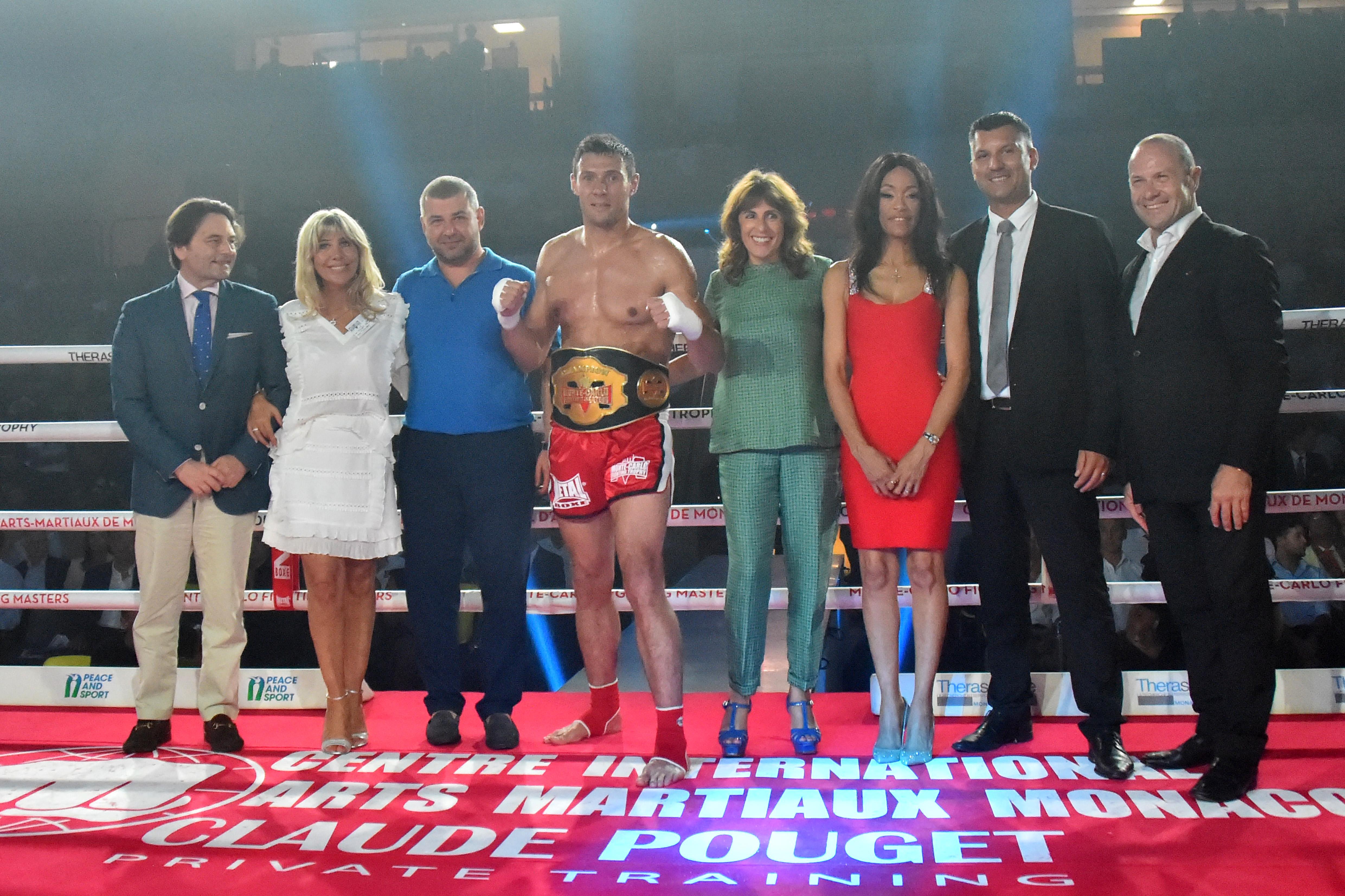 2 MC Fighting Masters's Belts